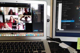Coworking à distance et entraide