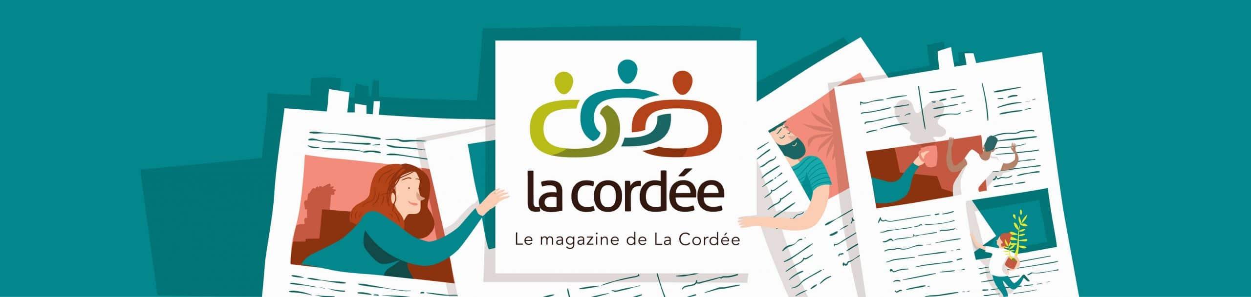 bannière de La Cordée Magazine