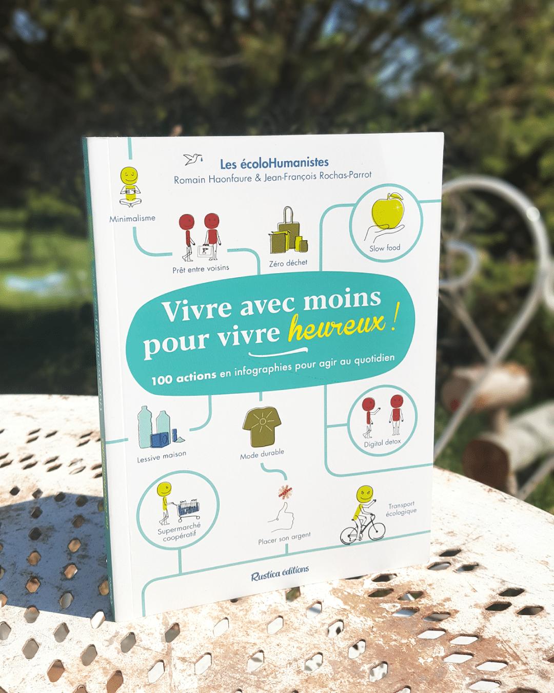 100 actions en un livre pour agir au quotidien ! Le livre des EcoloHumanistes